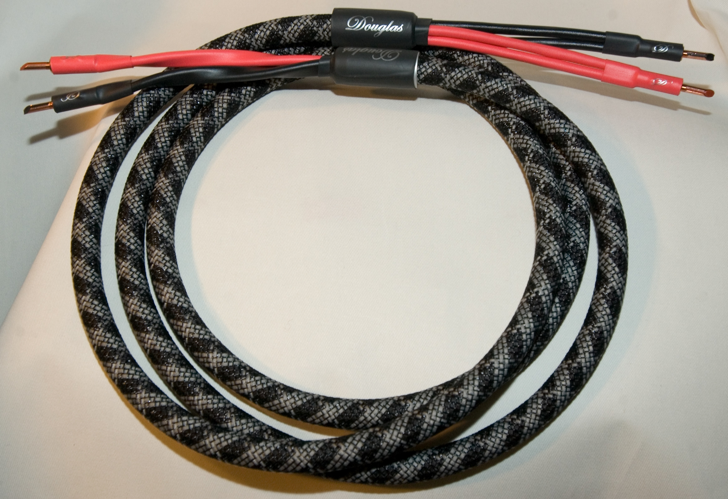 Custom Made Furez 9 AWG OFHC Speaker Cables