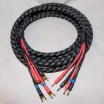 Bravo 12AWG Bi Amp OFHC Speaker Cables