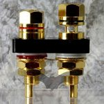 Vampire Wire BPHEX Gold Plated Binding Posts