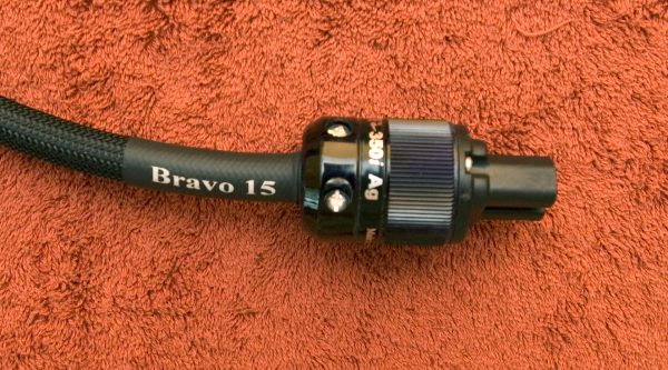 Bravo 15 Silver plated OFC Power Cable by Douglas Connection