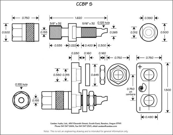 Cardas Audio CCBP S Binding Posts