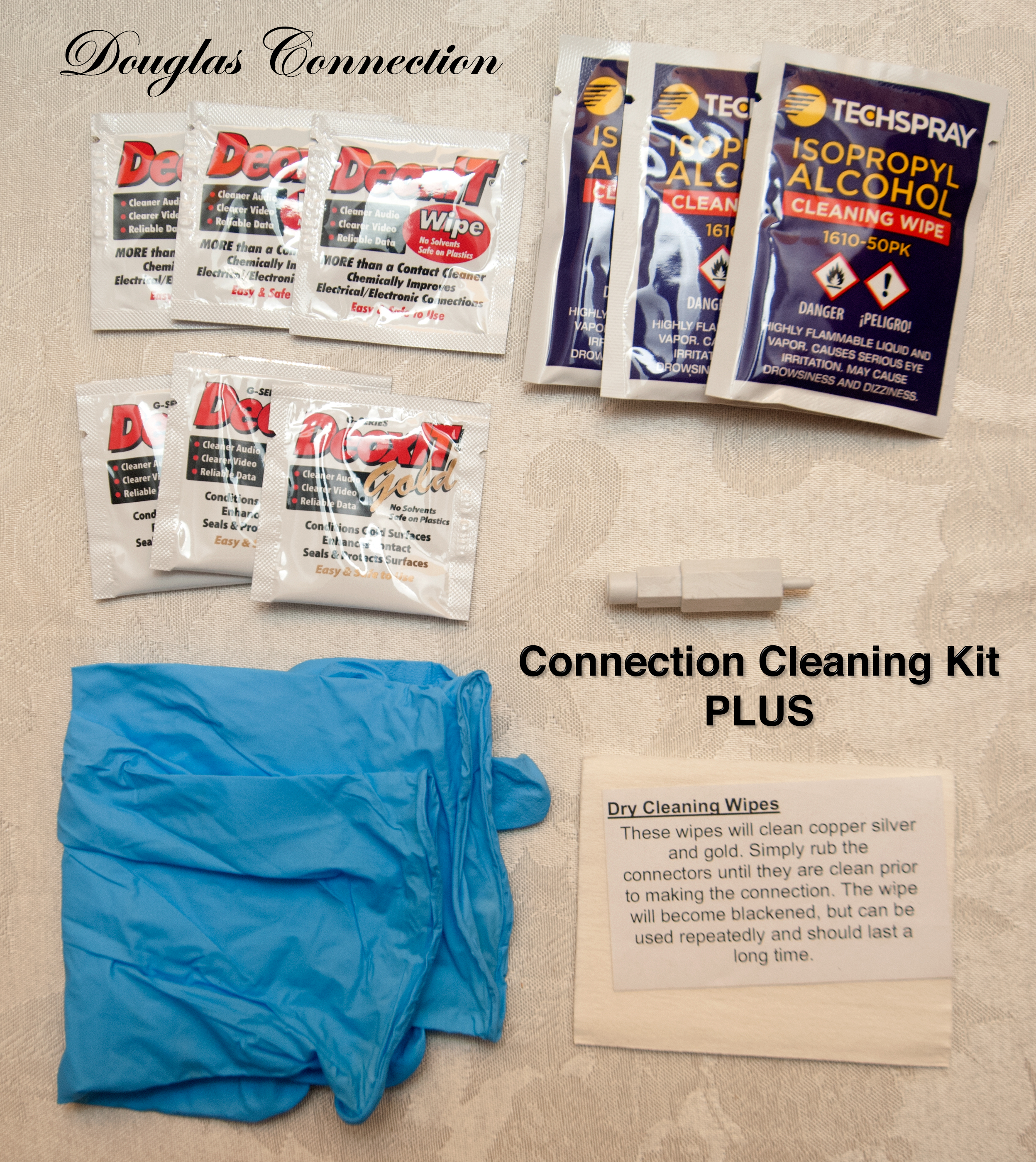 Douglas Connection Cleaning Kit Plus