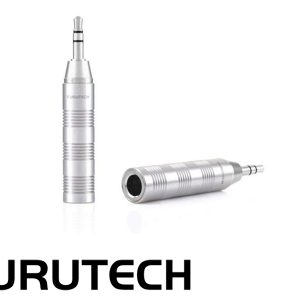 Furutech F35 (R) 6.3 stereo to 3.5 stereo Adaptor