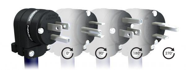 Furutech FI 12L MR 15A High End Performance Angled Power Plug