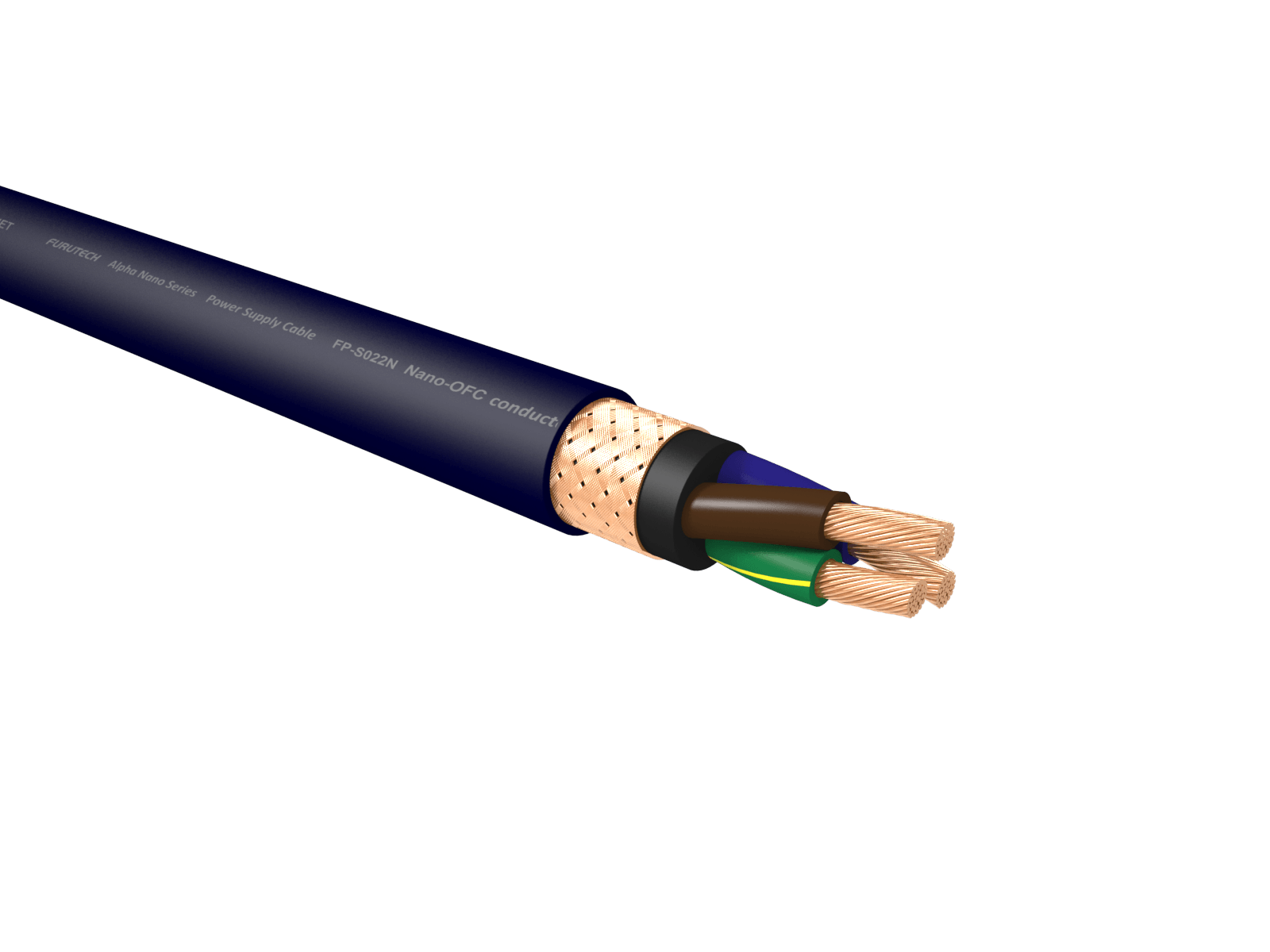 Furutech FP-SO22N Nano AuAg 14 AWG Power Cable