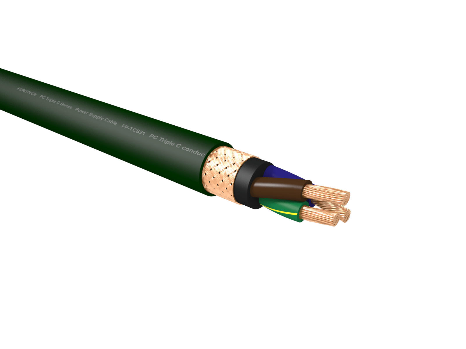 Furutech FP-TCS21 PC-Triple C 14 AWG Power Cable