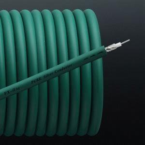 Furutech FX-Alpha-Ag Coaxial Cable Pure Silver Conductor