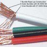 Custom Made Furez 9 AWG OFHC Speaker Cables