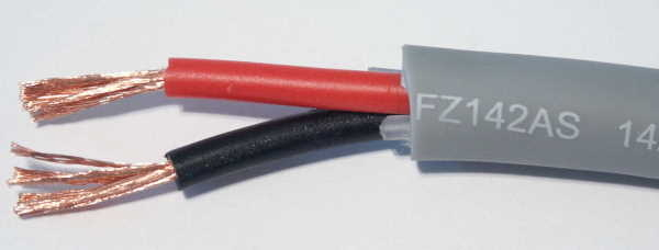 Furez 14AWG 2 Conductor Speaker Cable Raw