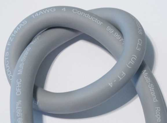 Custom Made Furez 11AWG OFHC Speaker Cables