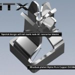Furutech GTX-D R Pure Copper Duplex Receptacle