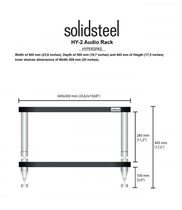 SolidSteel HY Series High End Audio Rack