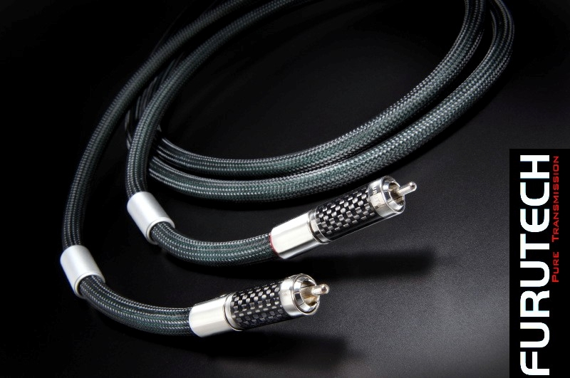Furutech Lineflux RCA High-End Interconnect Cable 1.2M pr