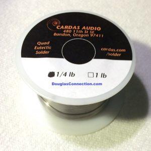 Cardas Quad Eutectic Solder 1/4 lb Roll