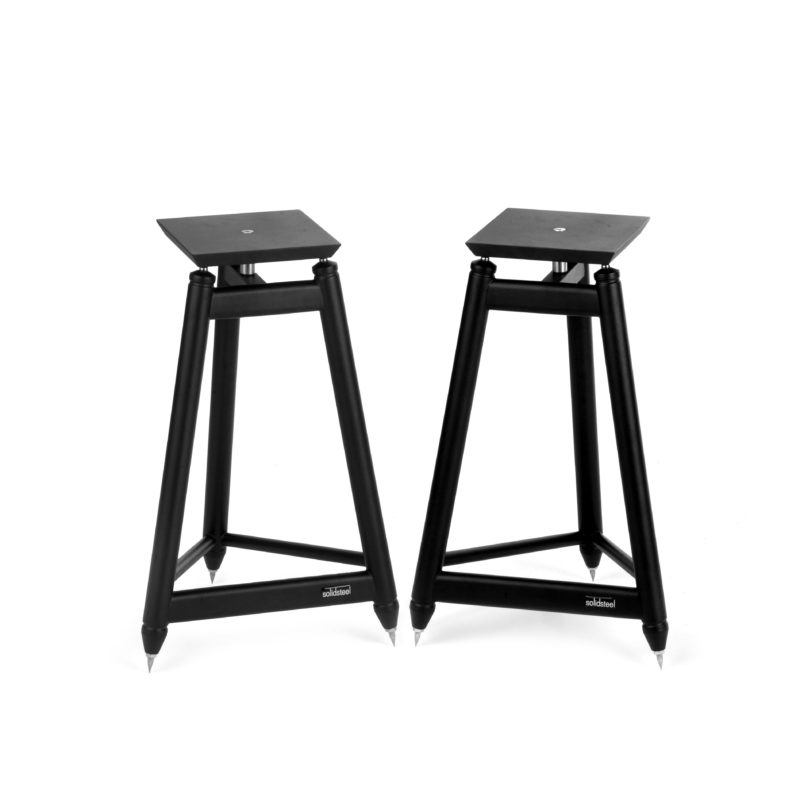 SolidSteel SS Series Vintage HiFi Speaker Stands
