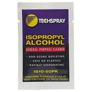 Techspray 99.8% pure anhydrous Isopropyl Alcohol Wipes