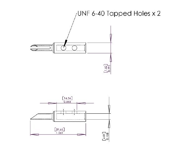 Furez TSTSB40Ag Silver Plated Copper Banana Plug Connectors Pair