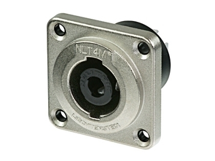 Neutrik NLT4MP 4 Pole Metal Chassis Mount Speaker Connector