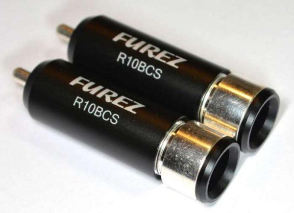 Furez R10BCS Silver Plated RCA Connector
