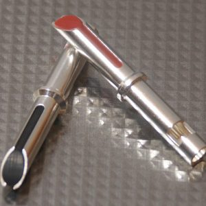 Furez TSTW30Ag Silver Plated Copper Banana Plug Connectors Pair