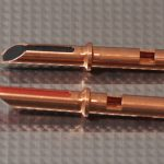 Furez TSTW30NP Bare Copper Banana Plug Connectors Pair
