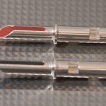 Furez TSTW38Ag Silver Plated Copper Banana Plug Connectors Pair