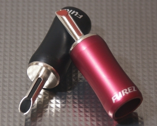 Furez TSTWP48XLAg Silver Plated Copper Banana Plug Connectors