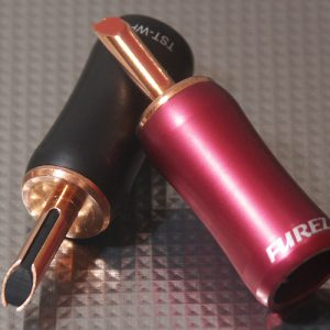 Furez TSTWP48XLNP Bare Copper Banana Plug Connectors Pair